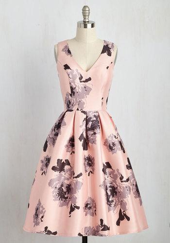 Now Ive Sheen Everything Dress $129.99 AT vintagedancer.com