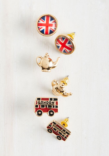 Here to Cheerio You Up Earring Set