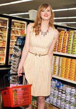 Patio My Goodness! Dress in Lemonade