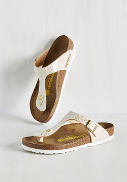 Landscape Consultation Sandal in Pearl