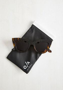 Kitti Sunglasses in Tortoiseshell