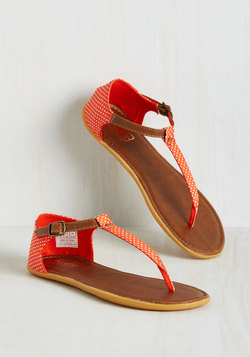 Dots of Promise Sandal in Mandarin