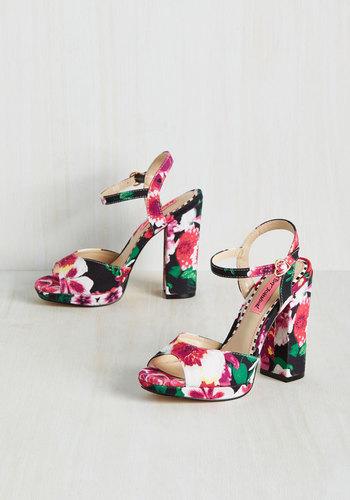 Elative Expression Heel in Bloom $119.99 AT vintagedancer.com