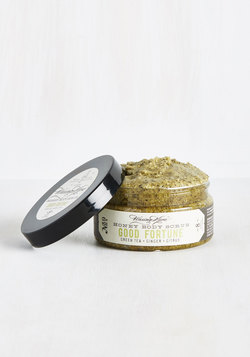 Cool, Calm, and Cleansed Body Scrub in Green Tea