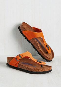 Landscape Consultation Sandal in Tangerine