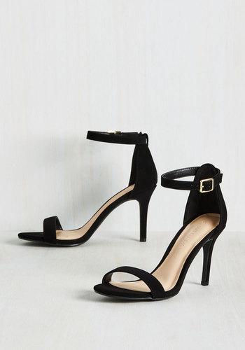 Polished Promise Heel in Black