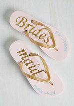 Preparing Is Caring Sandal BridesMaid Sandal