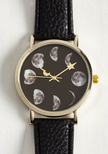 Phase Go By Watch - Black, Work, Casual, Daytime Party, Quirky, Gold, Better, Cosmic, Store 2, Store 1
