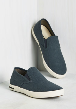 Long Beach Bash Slip-on Sneaker in Marine