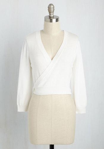 It's a Wrap Cardigan in Ivory