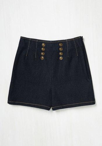 The Mariner Kind Shorts $44.99 AT vintagedancer.com