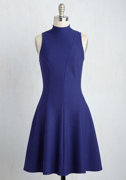 A-Line Dresses - Flirts Like a Charm Dress