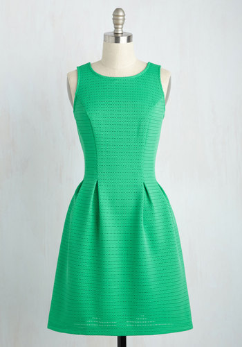 Game, Set, Matchless Dress in Green