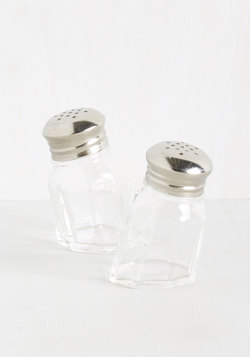 Jump to Illusions Salt and Pepper Shaker Set