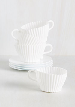 Sweet Tea Cupcake Serving Set