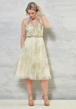 Lyrically Idyllic Floral Dress