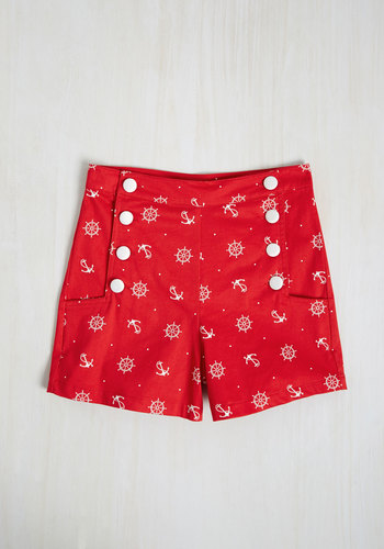 Play by Playful Shorts in Skipper $44.99 AT vintagedancer.com