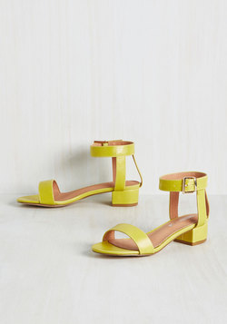 Joy Scout Sandal in Chartreuse