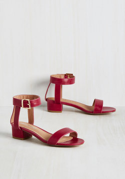 Joy Scout Sandal in Pomegranate