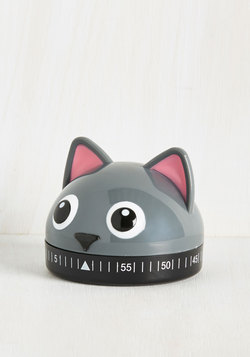 It's a Done Meal Kitchen Timer in Kitty
