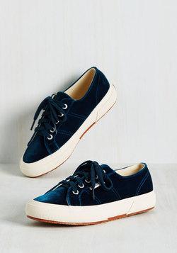 Delve Into Velvet Sneaker
