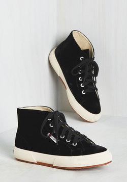 Ready, Set, Velvet Sneaker