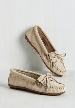 Fundamental Footwork Flat in Oatmeal