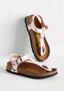 Slingback Has Slung Sandal