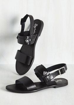 Revolutionary Sandal in Onyx