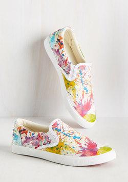 The Fast Resort Slip-on Sneaker in Paint Splash