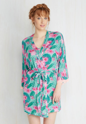 Assigned to Unwind Robe in Tropical