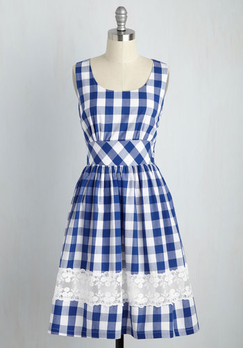 Maine Attraction Dress in Gingham $69.99 AT vintagedancer.com