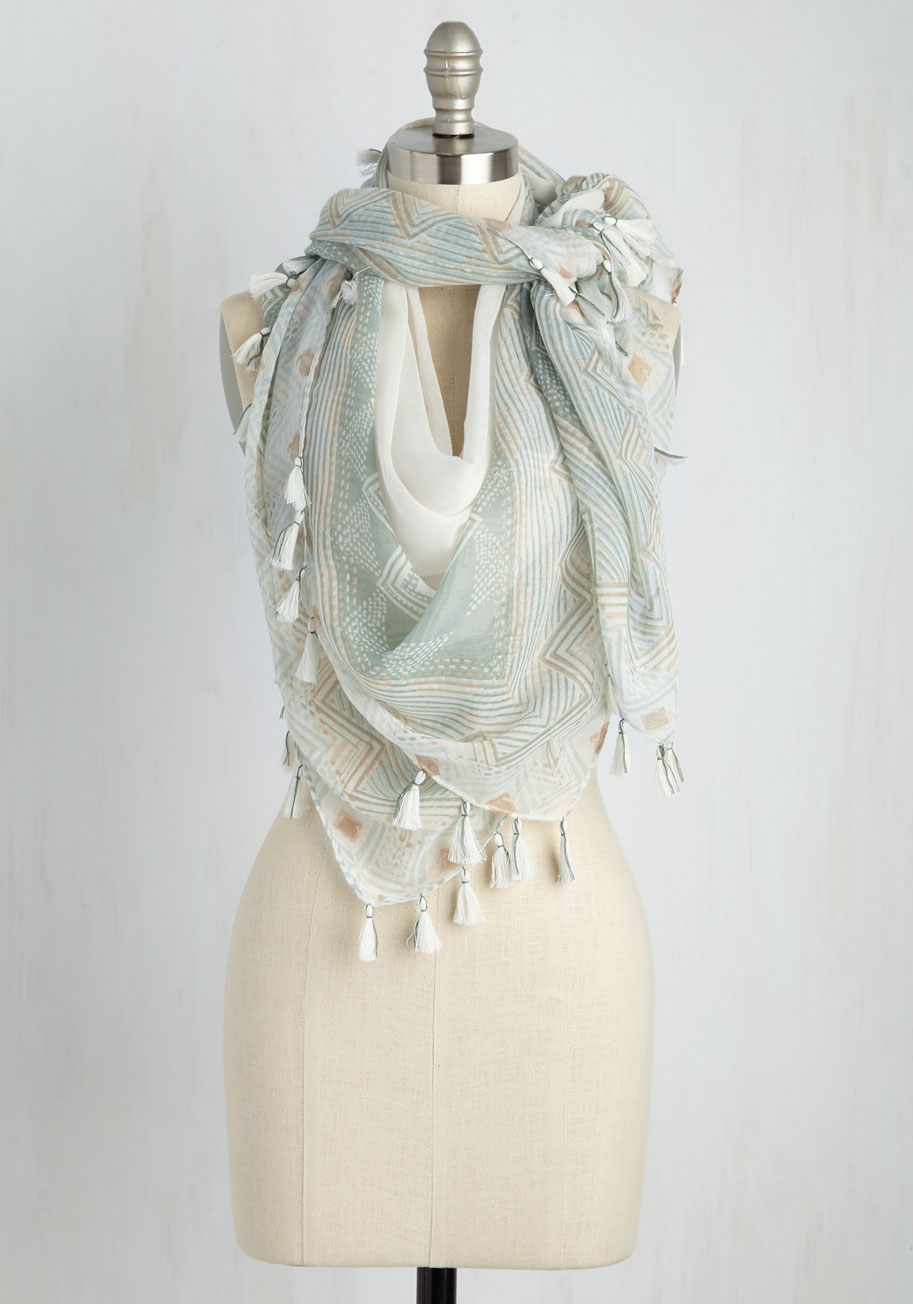 Peak Of Chic Scarf Mod Retro Vintage Scarves