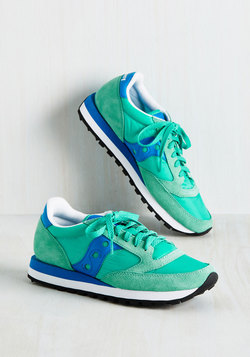 My Run and Only Sneaker in Caribbean