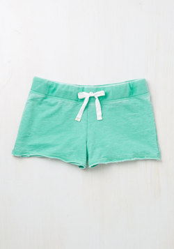 Good Thing Easygoing Sleep Shorts in Lagoon