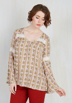 Bells and Giggles Top in Meadow