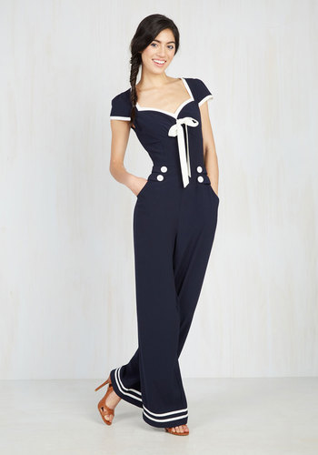 Seafare Thee Well Jumpsuit