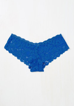 Demure Diva Panties in Azure