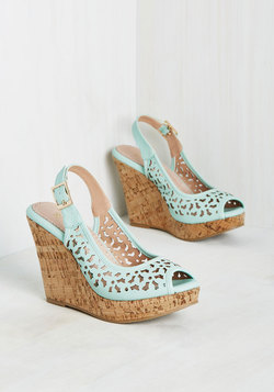Time Heels Everything Wedge
