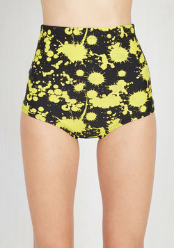 Parasail Away with Me Swimsuit Bottom in Splatters