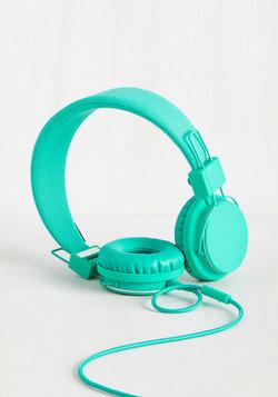 Thoroughly Modern Musician Headphones in Caribbean