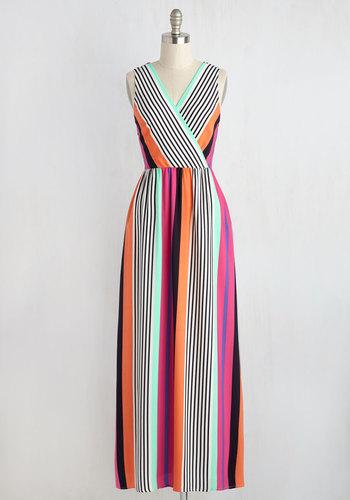 Color Number Ten Maxi Dress