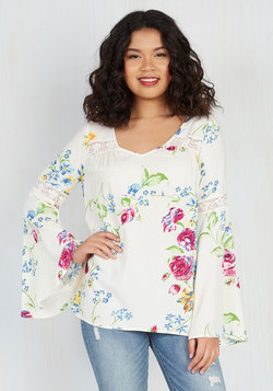 Bells and Giggles Top in Floral