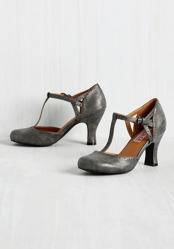 Retro & Vintage Style Shoes Aspiring Architect Heel $59.99 AT vintagedancer.com