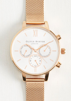 Wrist Opportunity Watch in Rose Gold - Big