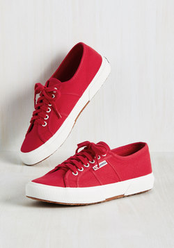 Active Kindness Sneaker in Red