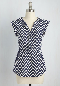 Expert in Your Zeal Top in Chevron
