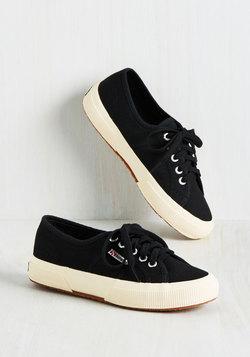 Active Kindness Sneaker in Black