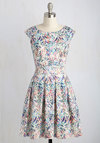Fluttering Romance Dress in Watercolor