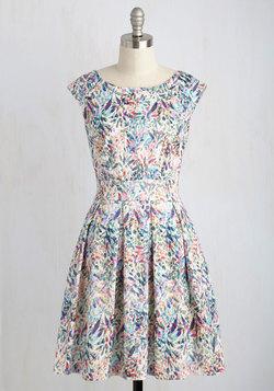Fluttering Romance Dress in Watercolor